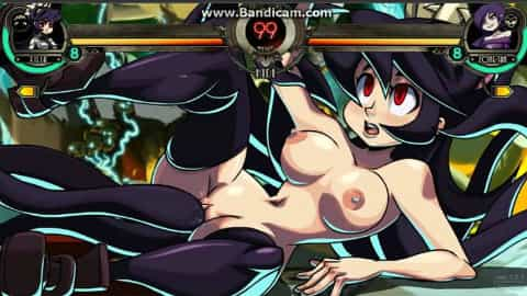 SKULLGIRLS FILIA GETS FUCKED hentai video