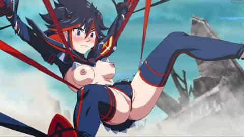 Kill la Kill Ryuko Matoi Hentai video ass fucked by Senketsu tentacles