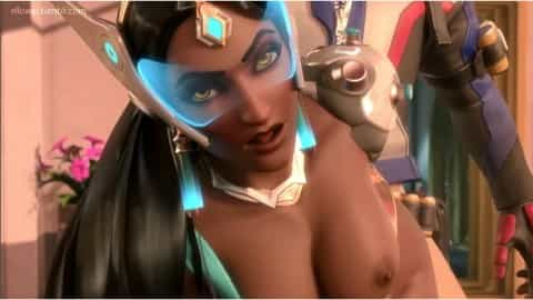 Overwatch Hentaiporn Symmetra drilled